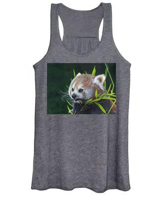 Red Panda Women's Tank Top