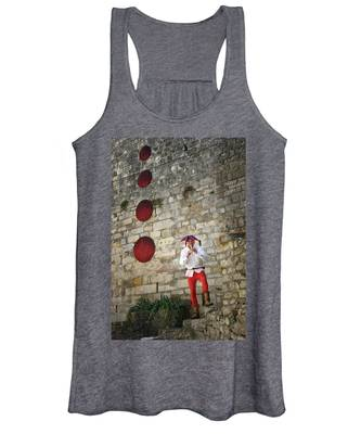 Women's Tank Top featuring the photograph Red Piper by Rasma Bertz
