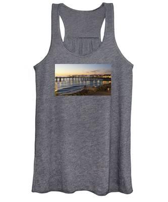 Redondo Pier At Sunset Women's Tank Top