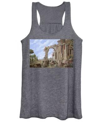 Roman Arch Women's Tank Tops
