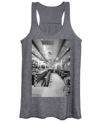 Route 66 Diner  Women's Tank Top