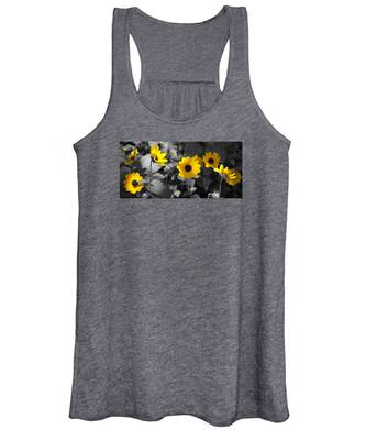 Shaded Daisies Women's Tank Top