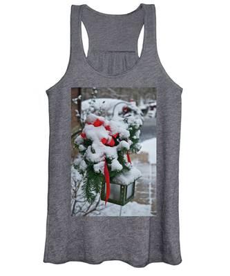 Snow Latern Women's Tank Top