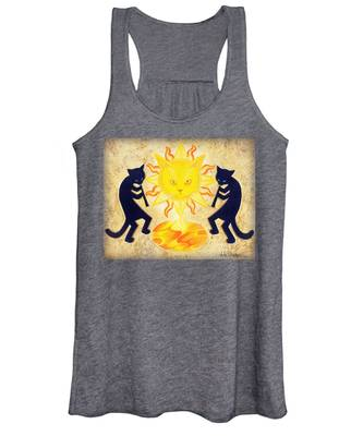 Solar Feline Entity Women's Tank Top