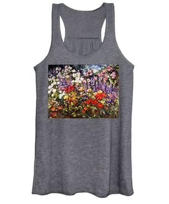 Summer Garden II Women's Tank Top
