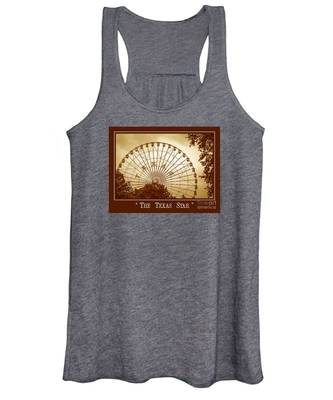 Texas Star In Gold Women's Tank Top