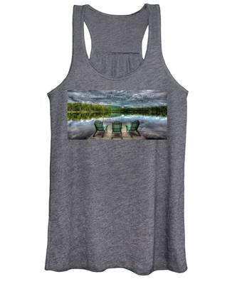 The Adirondack Mountains - Forever Wild Women's Tank Top