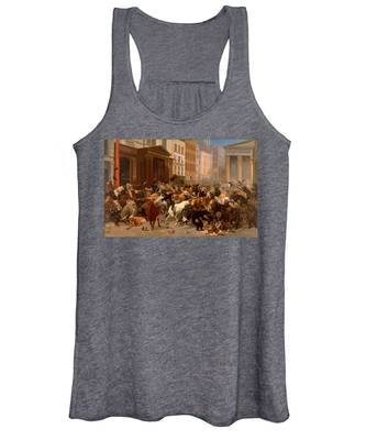 The Bulls And Bears In The Market Women's Tank Top