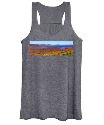 The Fulton Chain Of Lakes Women's Tank Top