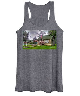 The Old Library At Beavertown Women's Tank Top