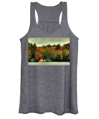 The Pond In Old Forge Women's Tank Top