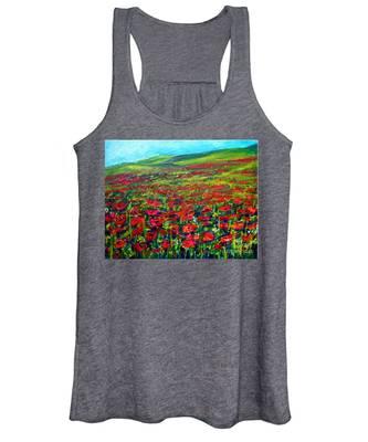 The Poppy Fields Women's Tank Top