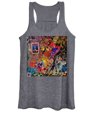 The Red Paintings Women's Tank Top