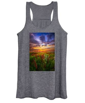 The Whispered Voice Within Women's Tank Top