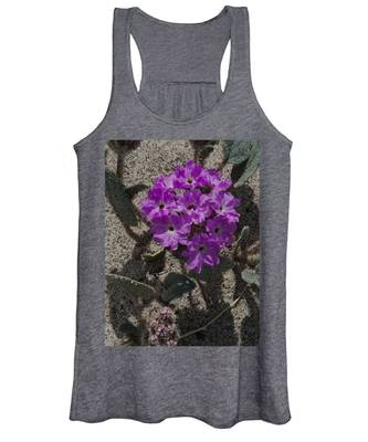 Violets In The Sand Women's Tank Top