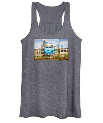Women's Tank Top featuring the photograph Whales In The City by Alice Gipson