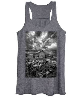 Where Ghosts Of Old Dwell And Hold Women's Tank Top