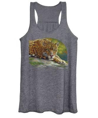 Peaceful Jaguar Women's Tank Top