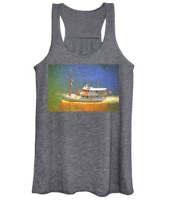 Boating Days Women's Tank Top by Alice Gipson