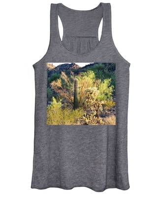 Women's Tank Top featuring the photograph Cactus Kingdom by Judy Kennedy