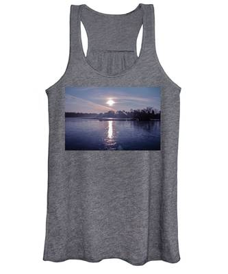 Purple Sky Women's Tank Tops