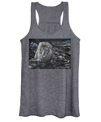 Lion In The Shade Women's Tank Top