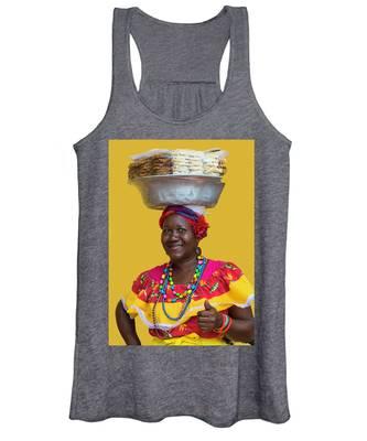 Los Palenques De Cartagena De Indias Women's Tank Top