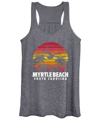 Beach Sun Myrtle Beach South Carolina Mens Tank Top