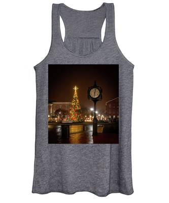 Night On The Square Women's Tank Top