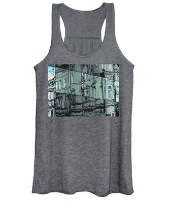 A Reflection On Modern Architecture Women's Tank Top