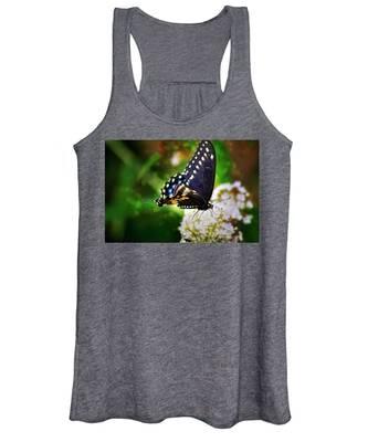 Swallowtail Butterfly Women's Tank Top