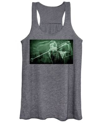 Tiger's On The Green Women's Tank Top