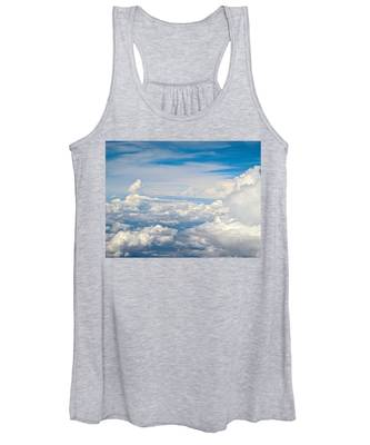 Above The Clouds Over Texas Image B Women's Tank Top