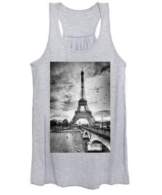 Bridge To The Eiffel Tower Women's Tank Top