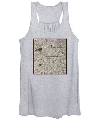 Dragonflies Haiga Women's Tank Top