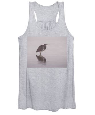 Evening Heron Women's Tank Top