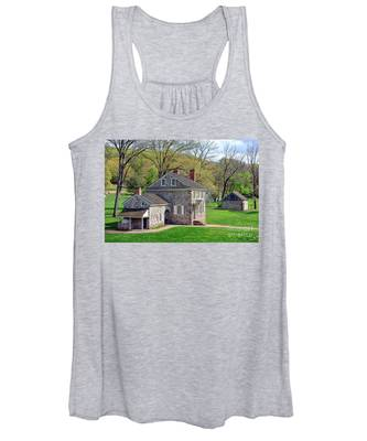 George Washington Headquarters At Valley Forge Women's Tank Top