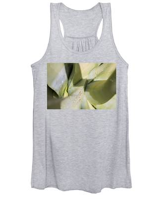 Giant Agave Abstract 3 Women's Tank Top