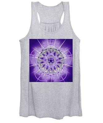 Women's Tank Top featuring the drawing In'phi'nity Star-map by Derek Gedney