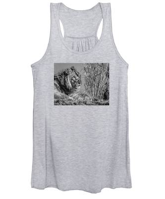 Watching Intently Women's Tank Top