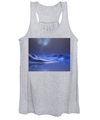 Midnight Snow Women's Tank Top