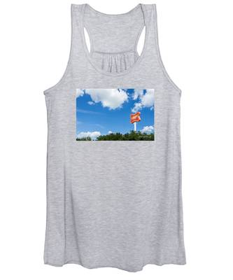 Miller Brewery Sign Women's Tank Top