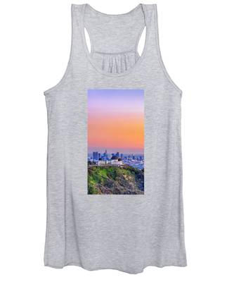 Orangesicle Griffith Observatory Women's Tank Top