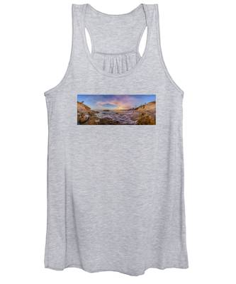 Panorama The Whole Way Round The Cove Women's Tank Top