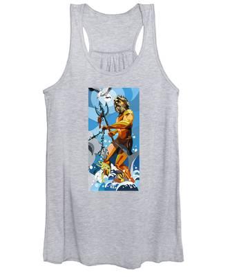 Poseidon - W/hidden Pictures Women's Tank Top