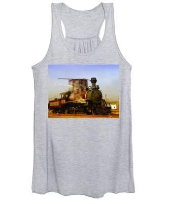 Skunk Train Women's Tank Top