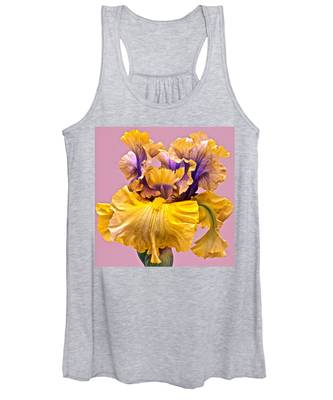 Spectacular Iris Close Up Women's Tank Top