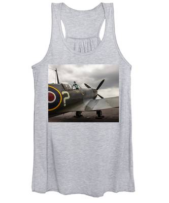Spitfire On Display Women's Tank Top