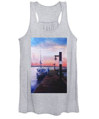 Sunset At Rocky Point Women's Tank Top