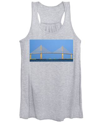 Sunshine Skyway Panorama Women's Tank Top